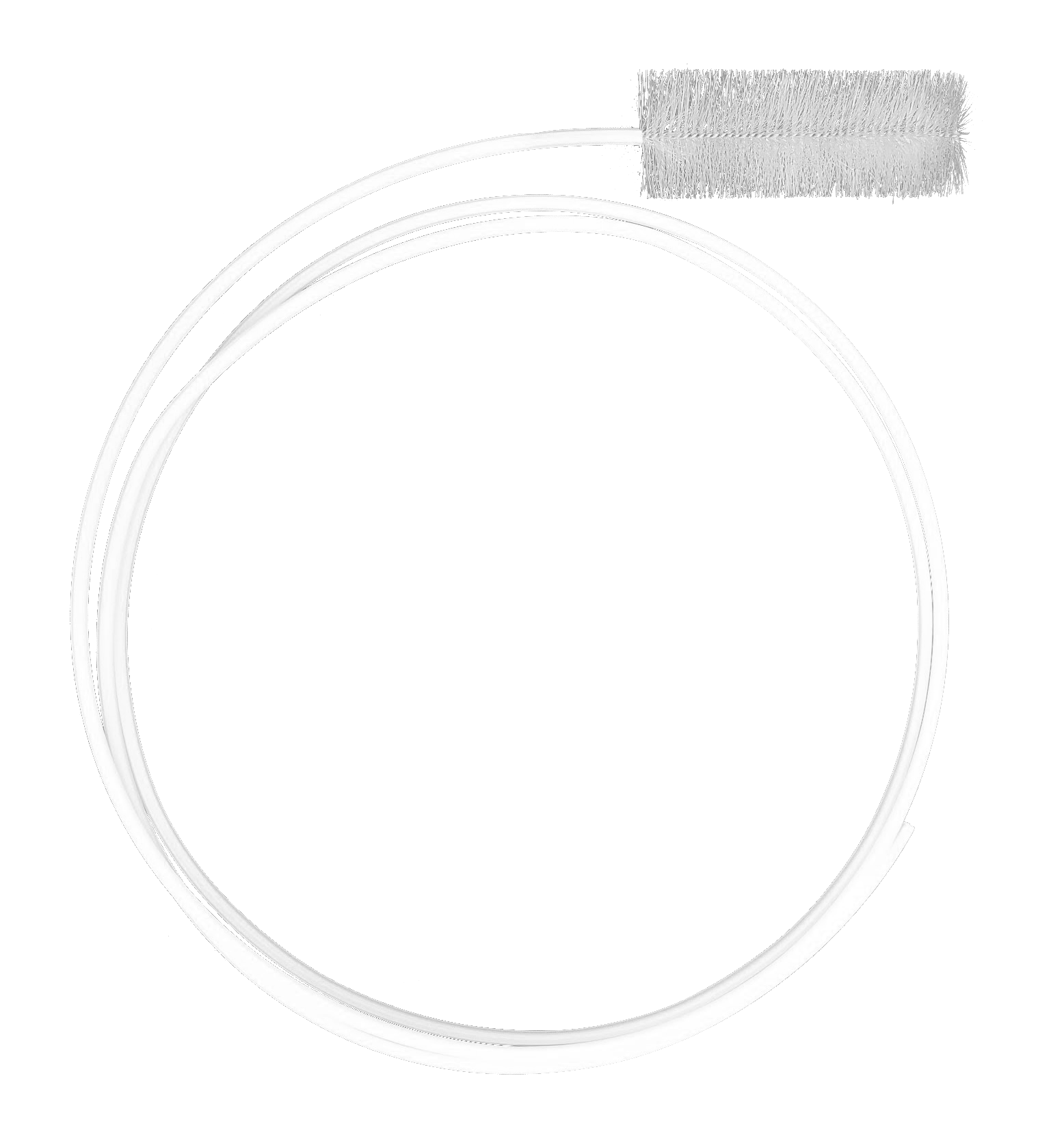 Escova flexível para tubos